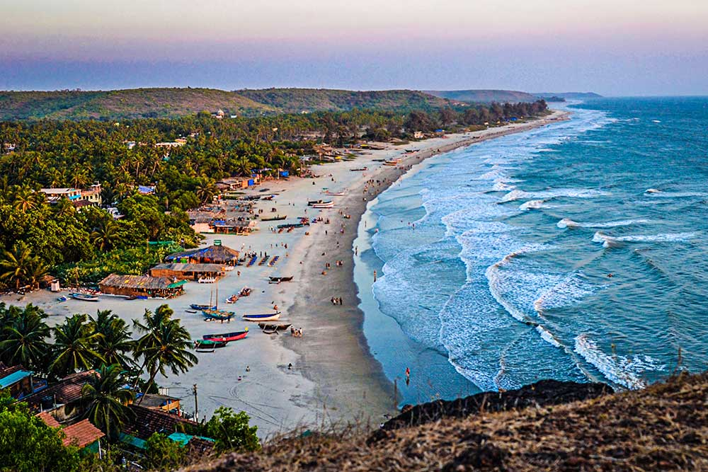 8 Nights 9 Days Golden Triangle With Goa